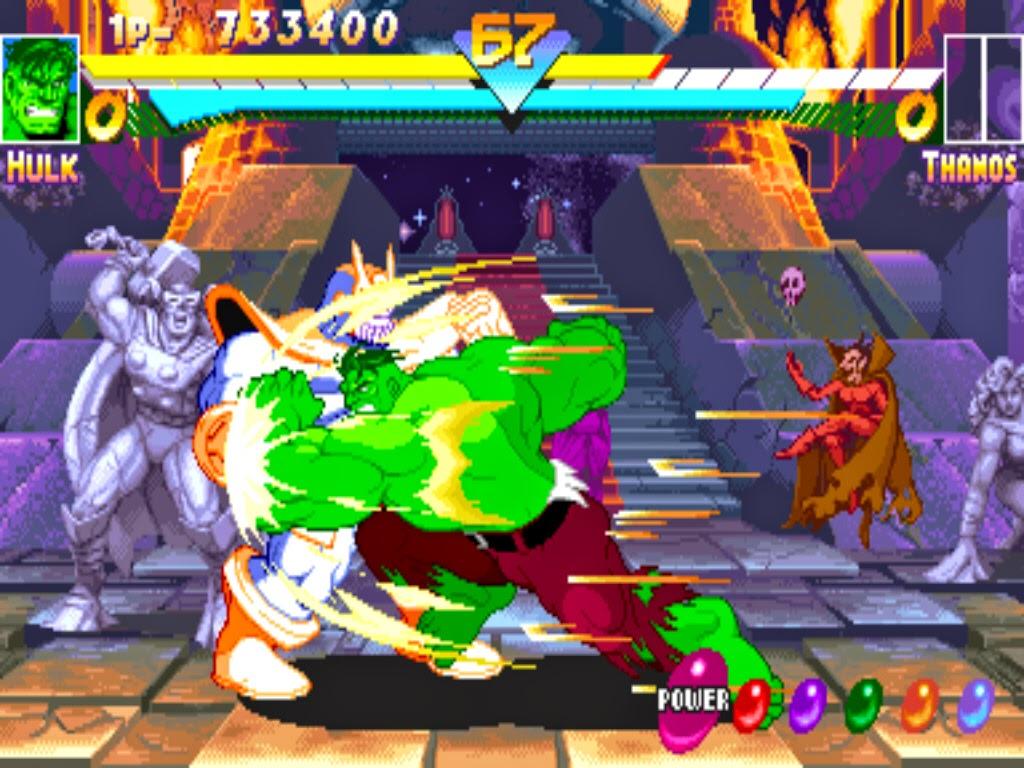 Marvel Super Hero+arcade+game+portable+videojuego+descargar gratis