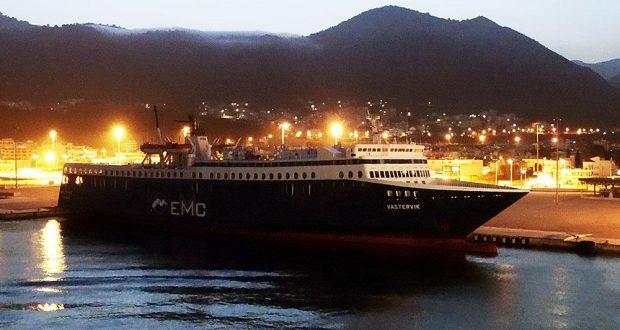 Mέσα στις επόμενες ημέρες φεύγει το VASTERVIK από το λιμάνι της Ηγουμενίτσας