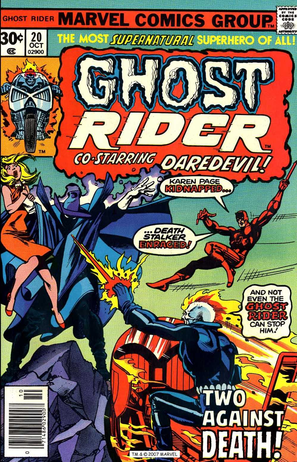 Ghost Rider (1973) Issue #20 #20 - English 1