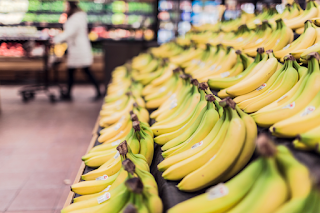 Banana's are the second most important food crop in Rwanda.