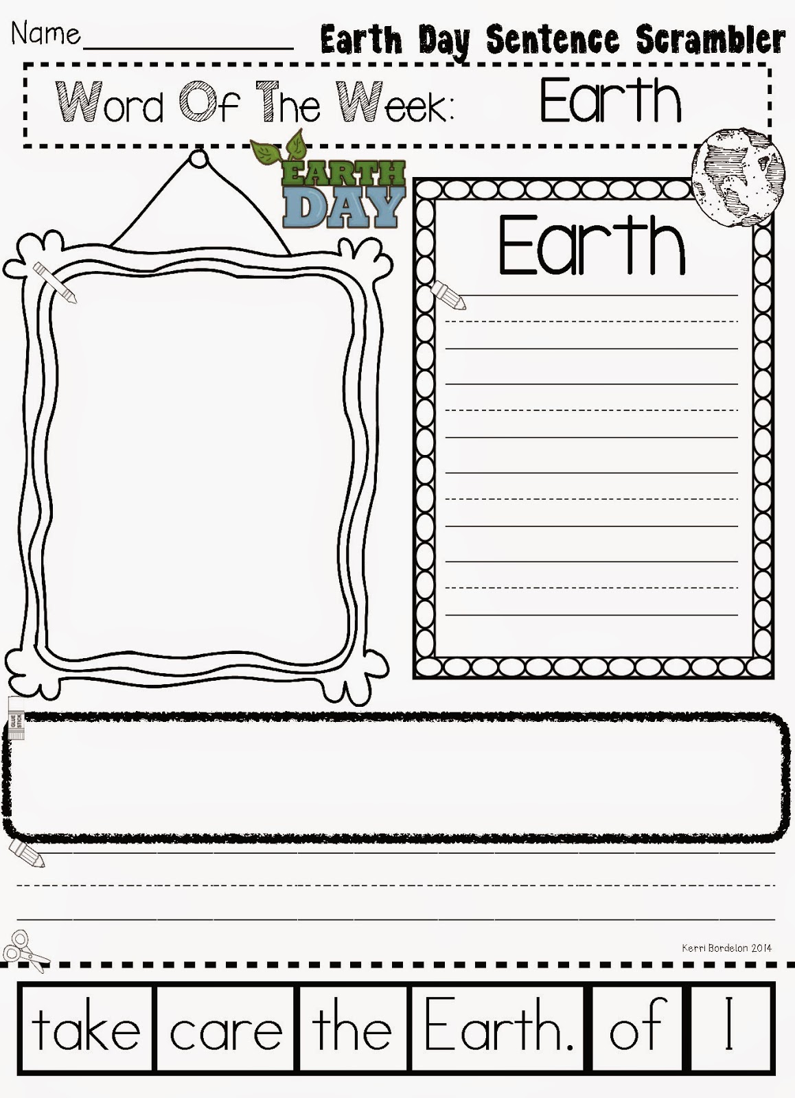 Teacher Bits And Bobs Earth Day Fun And Freebies
