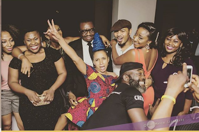 AMVCA 2016 party