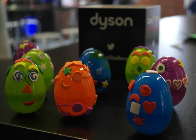 Discovering Engineering at MSI Manchester with Dyson and Currys PC World #DysonChallenge Self-righting eggs