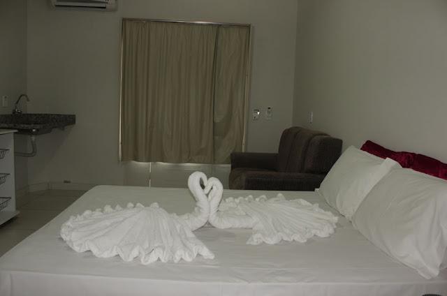Apartamentos com ar condicionado em Cristalina Hotel