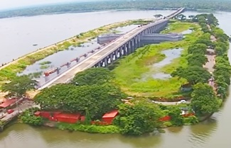 Kumarakom Thanneermukkom Bund Helicam Aerial View