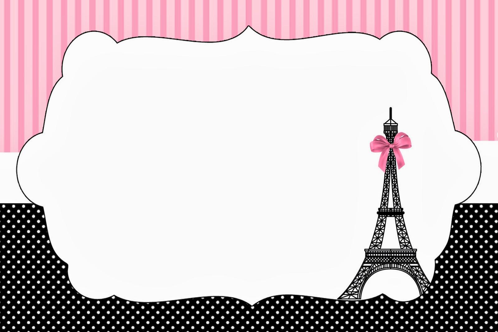 Populares París: Imprimibles e Invitaciones para Imprimir Gratis. | Ideas y  OI66