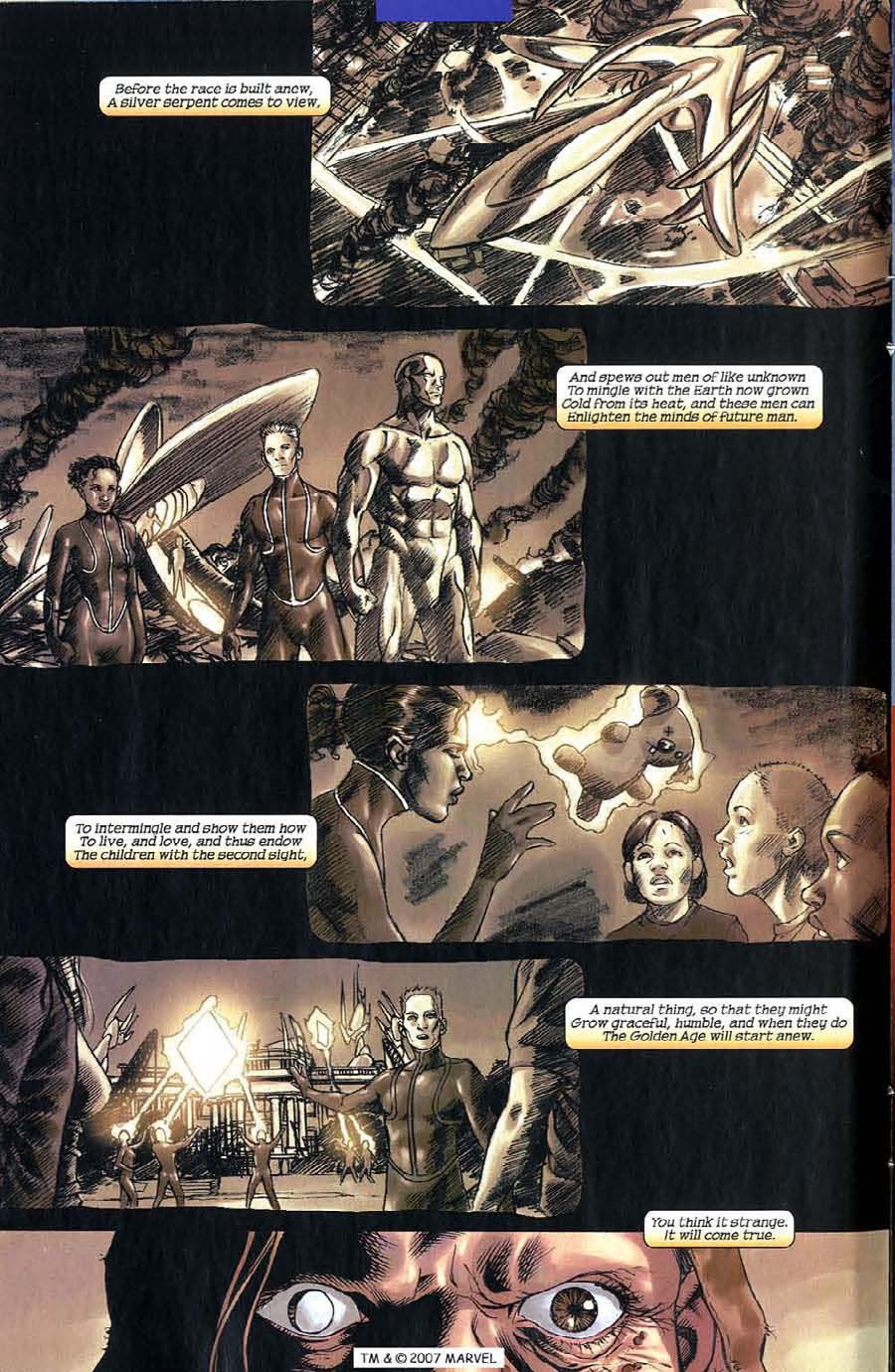 Read online Silver Surfer (2003) comic -  Issue #5 - 8