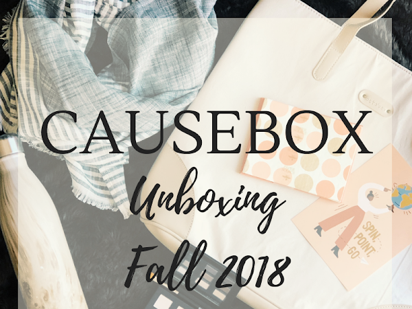 CAUSEBOX Unboxing {Fall 2018}