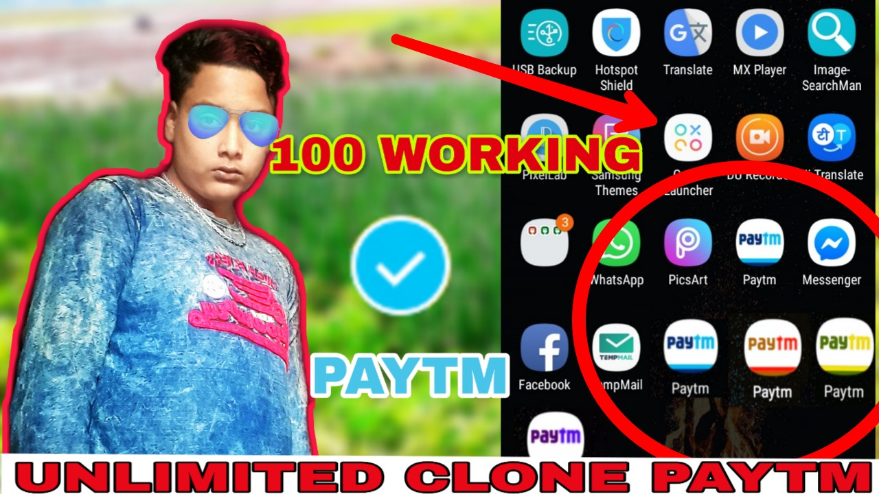Online Income : How to clone paytm apps
