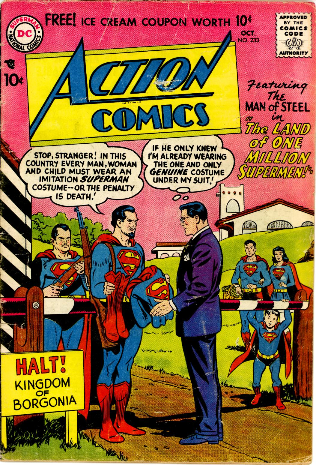 Read online Action Comics (1938) comic -  Issue #233 - 1