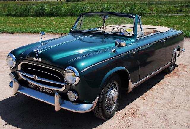 Beliebt Bevorzugt FAB WHEELS DIGEST (F.W.D.): Peugeot 403 Cabriolet (1956–61) @VH_03