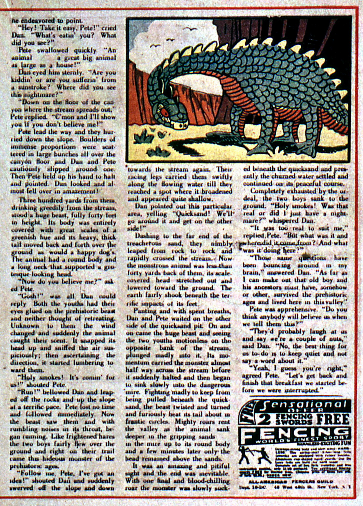 Read online Action Comics (1938) comic -  Issue #5 - 35
