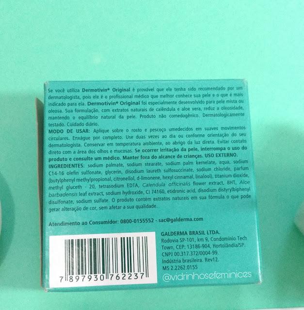 Sabonete Dermotivin Original Barra 90 g