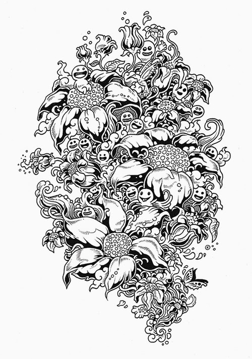 04-Filipino-Artist-Kerby-Rosanes-Doodle-Invasion-Drawings-www-designstack-co