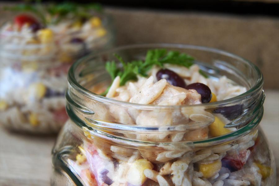 salatka z kurczaka