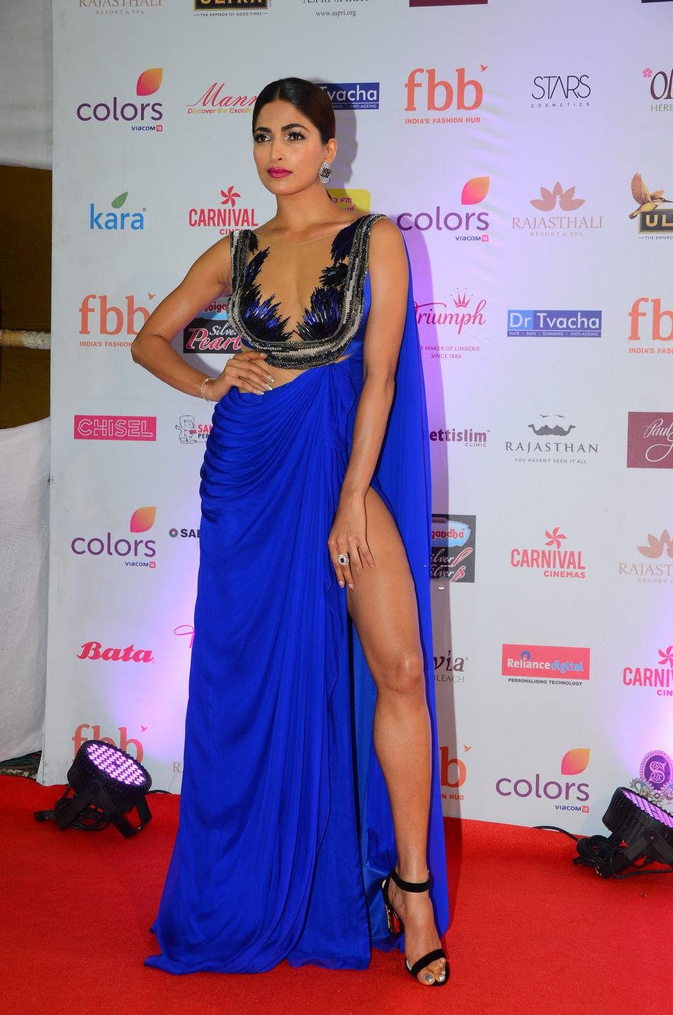 Parvathy Omanakuttan at Femina Miss India World 2017