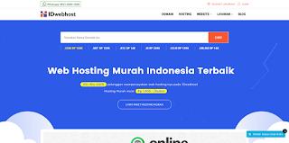 Web Cloud Hosting dan Domain Terbaik dan Murah Indonesia 2019