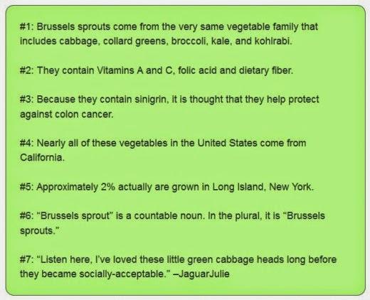 brussels sprouts factoids by jaguarjulie