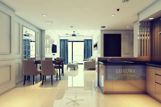 Căn hộ chung cư Luxury Apartment