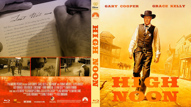 High Noon Bluray Cover
