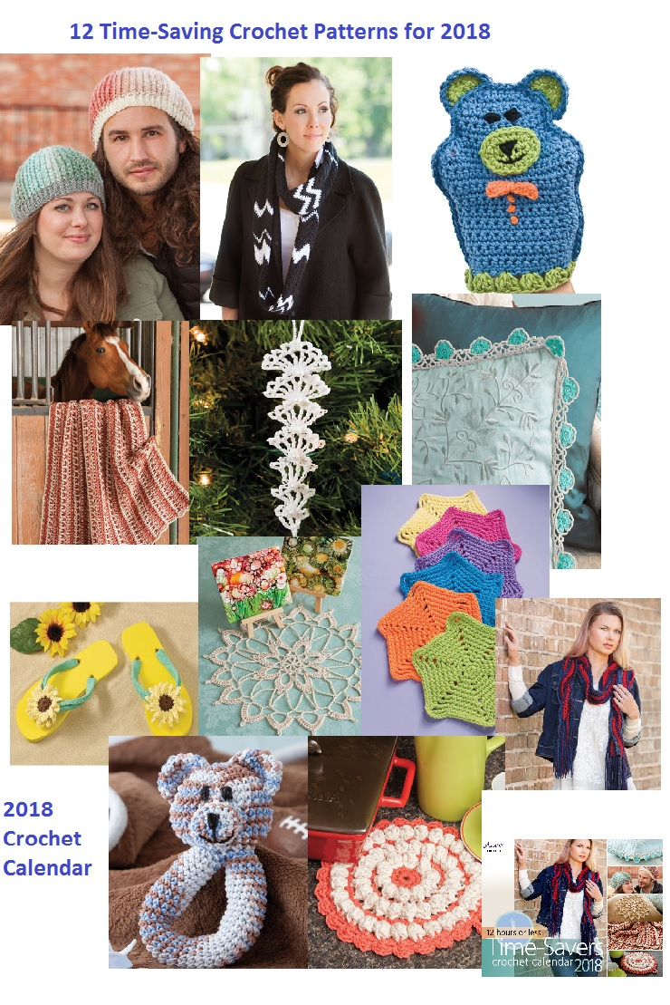 12 Easy Crochet in a Weekend Patterns for 2018