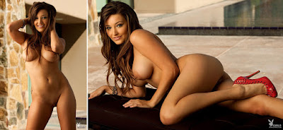 Girls of Playboy - Christine Veronica - Coed of the Week - Oct 18, 2010