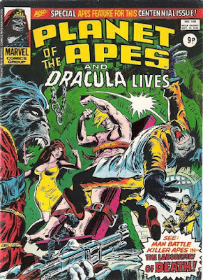 Marvel UK, Planet of the Apes #100