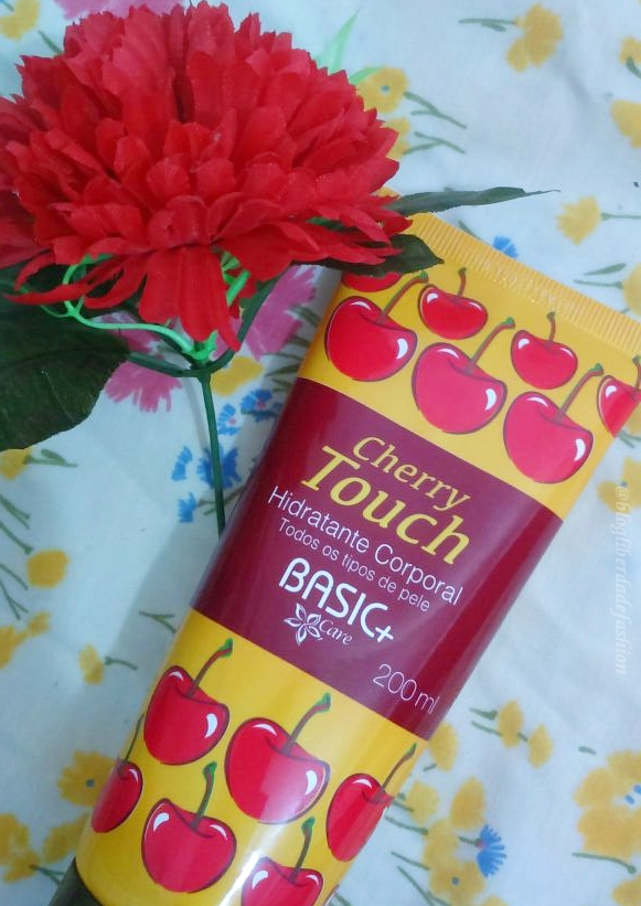 Hidratante Corporal Cherry Touch da Basic+ Care