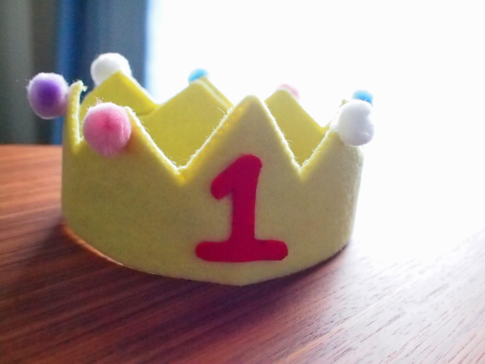 りっくんと楽しむ 八王子で子育て: 手作り 王冠