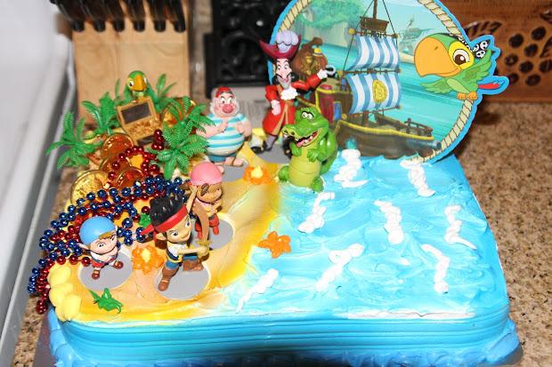 Cinderella Birthday Cake Jake And Neverland Pirates Walmart
