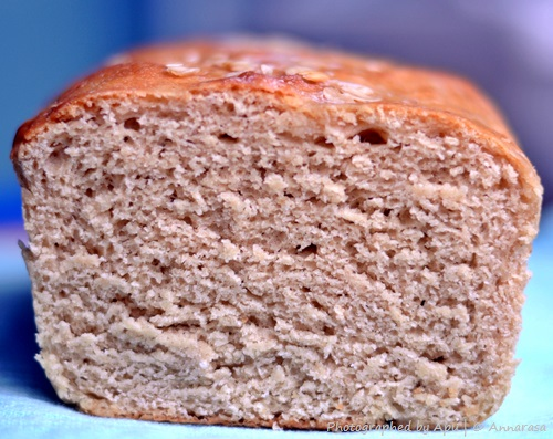 Oats Whole Wheat Bread