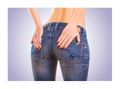 Низко расположенные карманы на джинсах