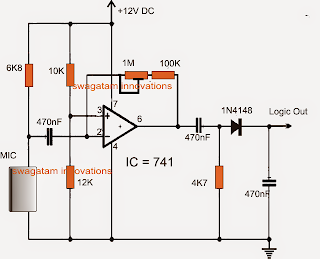 Ultrasonic Sound Sensor Alarm Circuit furthermore Mercedes C230 Fuse Box Diagram as well Voice Recorder And Playback Circuit further Speaker To Microphone Converter Circuit furthermore Pcb Para Pre  De Microfono. on condenser mic circuit diagram 8