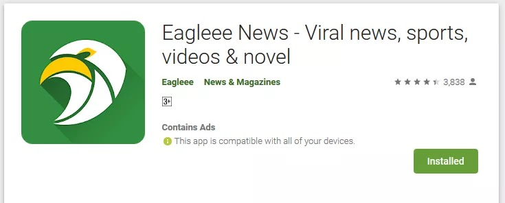 Download Eagleee News App: Get Free Airtime + Data For