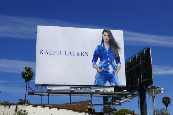 Ralph Lauren Spring 2018 billboard