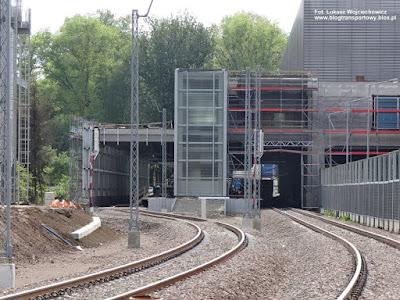 Linia kolejowa do Balic, stacja końcowa