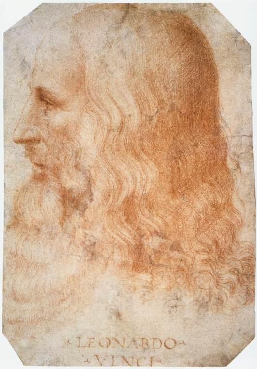 Francesco Melzi: Portrait of Leonardo (1515)