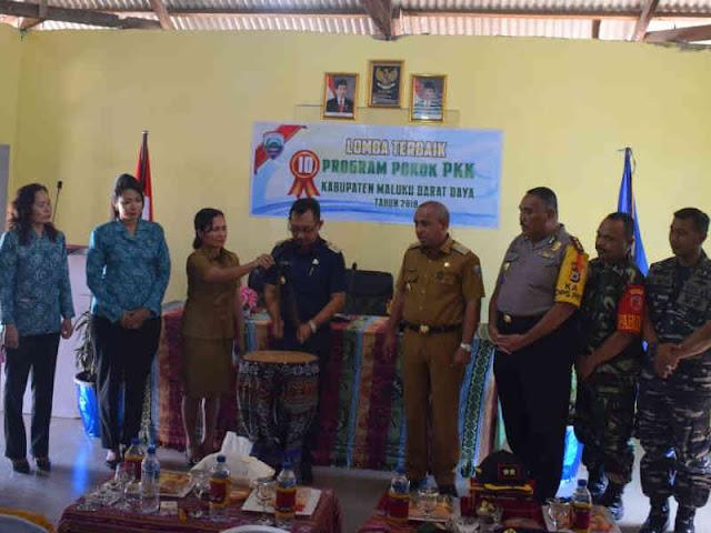 PKK Maluku Barat Daya Gelar Lomba Terbaik 10 Program Pokok