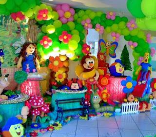 Festa infantil Crianças Diante do Trono