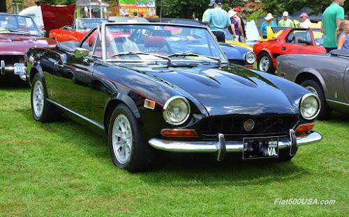 1974 Fiat 124 Sport Spider