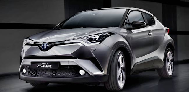 2018 Toyota C HR Concept Front 3-Quarter