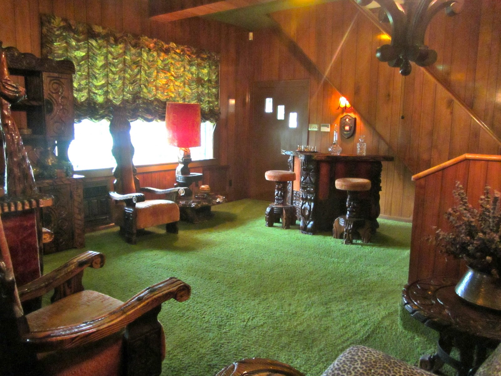 Crazy Shenanigans Graceland The Jungle Room