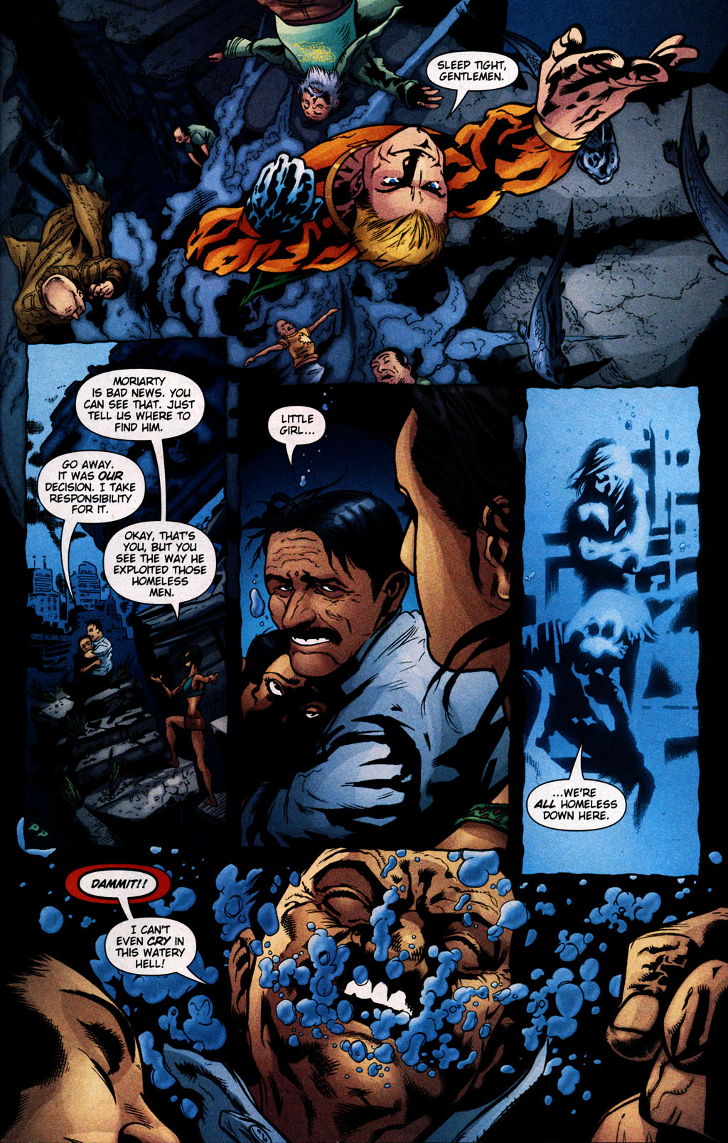 Read online Aquaman (2003) comic -  Issue #25 - 21