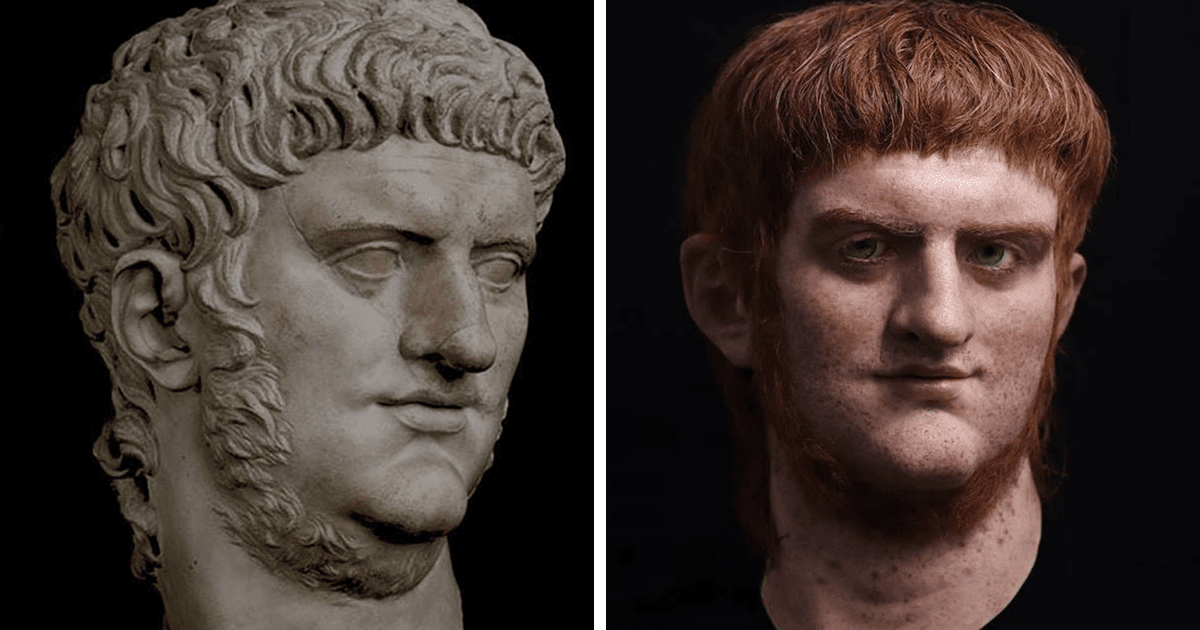 Spanish Artist Creates Stunning Sculptures That Revive Three Notorious Roman Emperors