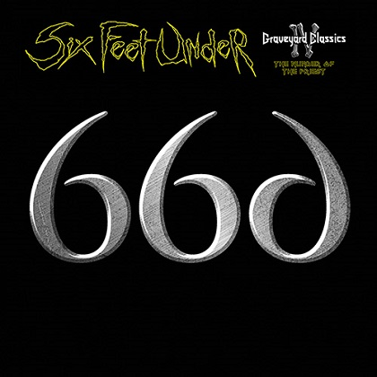 Detail from Six Feet Under New Album, Graveyard Classics IV The Number of the Priest