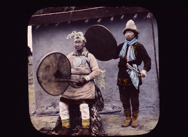 người Nanai, họ sống ở khu vực biên giới Trung Quốc và Nga