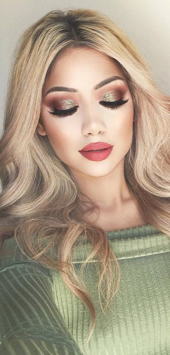 Stylish makeup