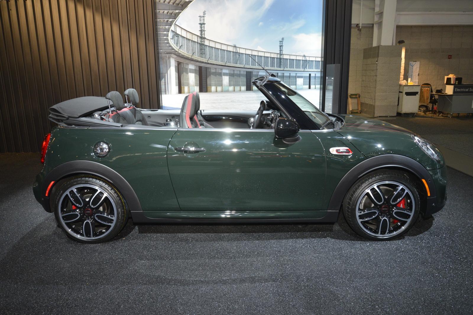 mini john cooper works convertible    definition  niche carscoops