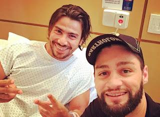 O cantor Mariano da dupla Munhoz e Mariano sofre acidente no  Japão