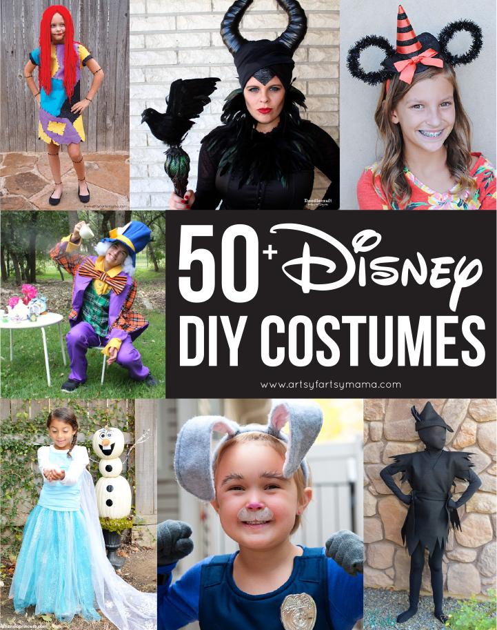50+ DIY Disney Costumes | artsy-fartsy mama